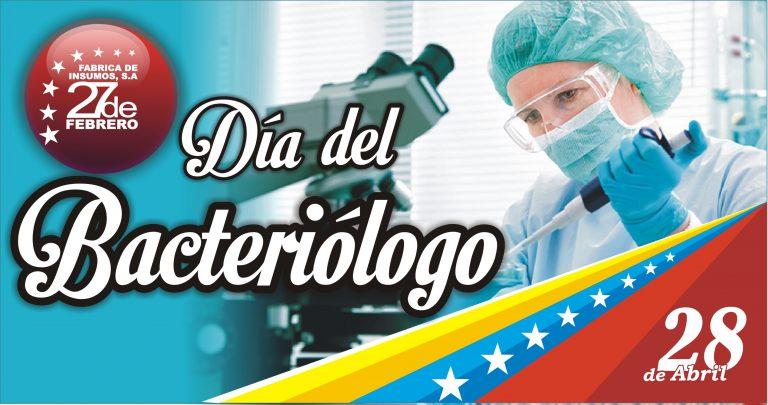 28 Día del Bacteriólogo