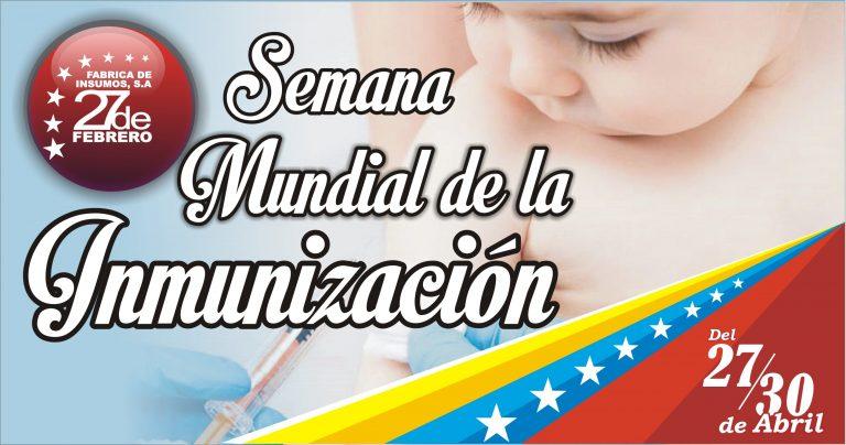 30Semana Mundial de la Inmunización