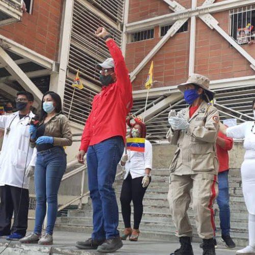Urbanismos de la GMVV ratificaron su compromiso con la Revolución Bolivariana al cumplirse 18 años del Golpe del 11A