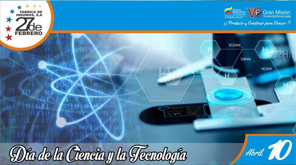 10 Día de la Ciencia y la Tecnología