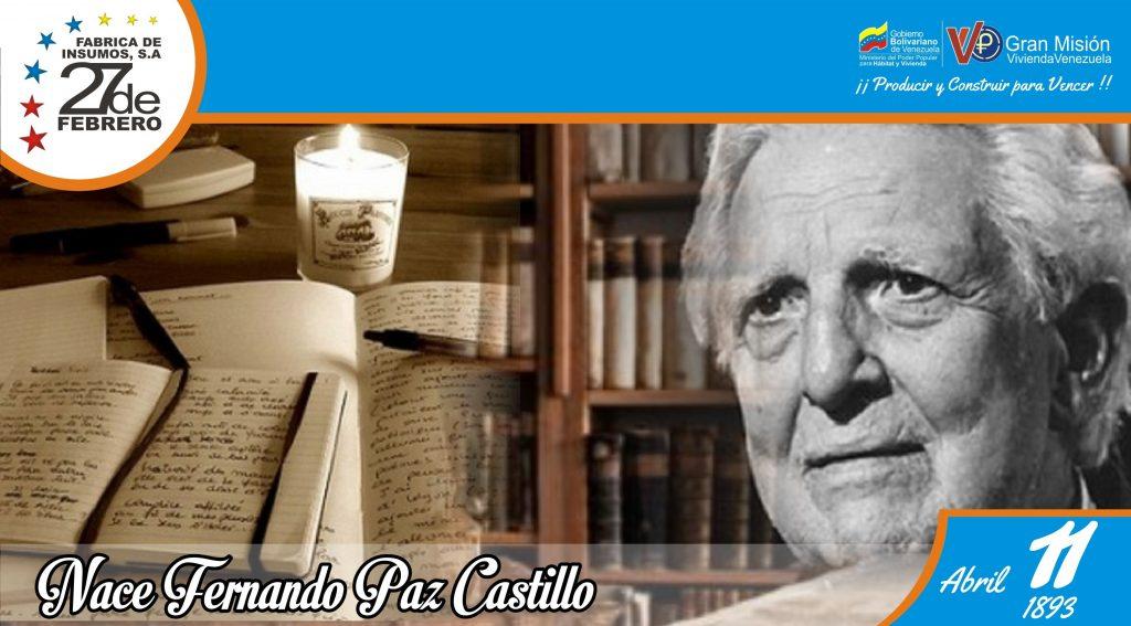 11 Nace Fernando Paz Castillo