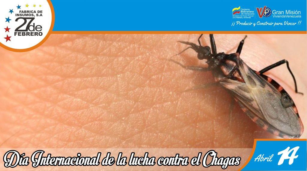 14 Día Internacional de la Lucha contra el Chagas