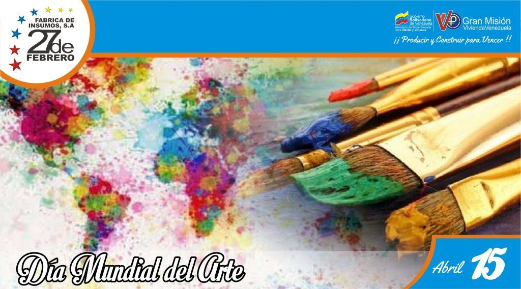 15 Día Mundial del Arte