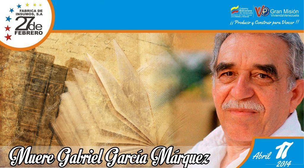 17 Muere Gabriel García Márquez