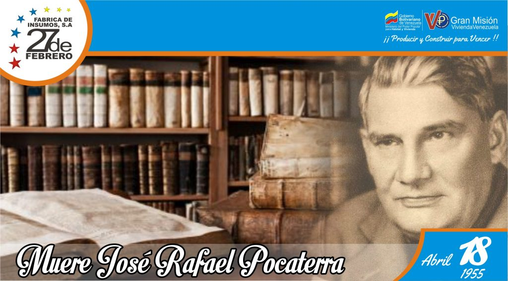 18 Muere José Rafael Pocaterra