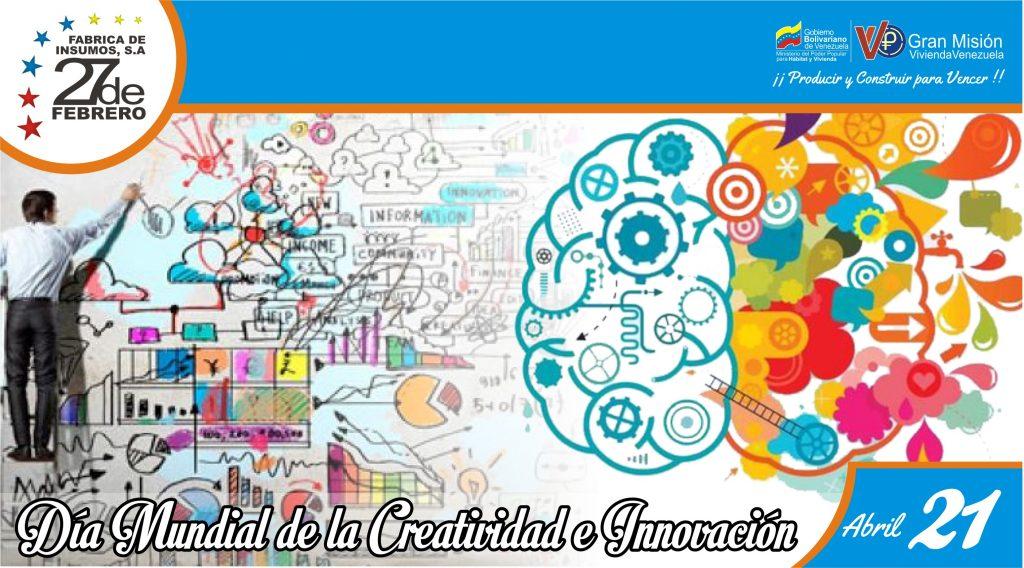 21 Día Mundial de la Creatividad e Innovación