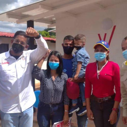 36 nuevos hogares adjudicó la GMVV en la población de Upata estado Bolívar